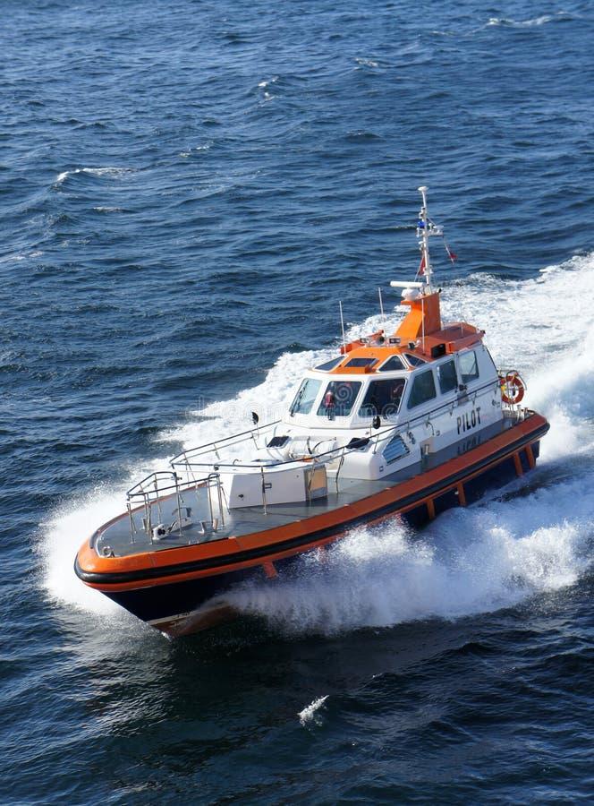 Pilot Boat Stock Image