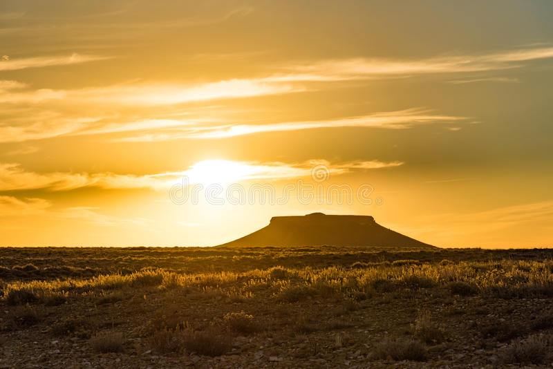 Pilot Butte, Wyoming royalty free stock images