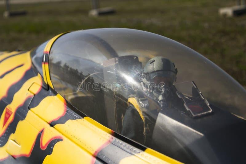 Pilot för stråle för Bellota stråle 2013 arkivbilder