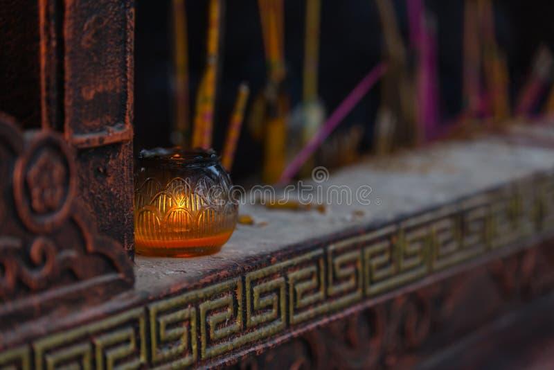 Pilot- lampa av templet royaltyfria foton