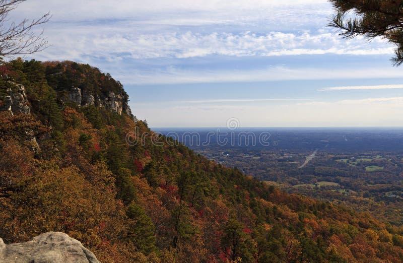 Pilot Mountain lizenzfreie stockfotografie