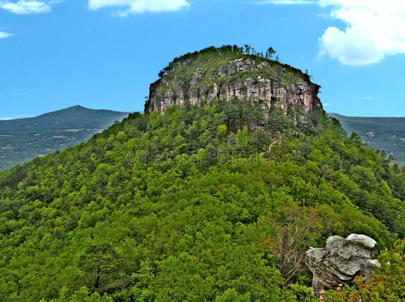 Pilot Mountain State Park Pinnacle royalty free stock image