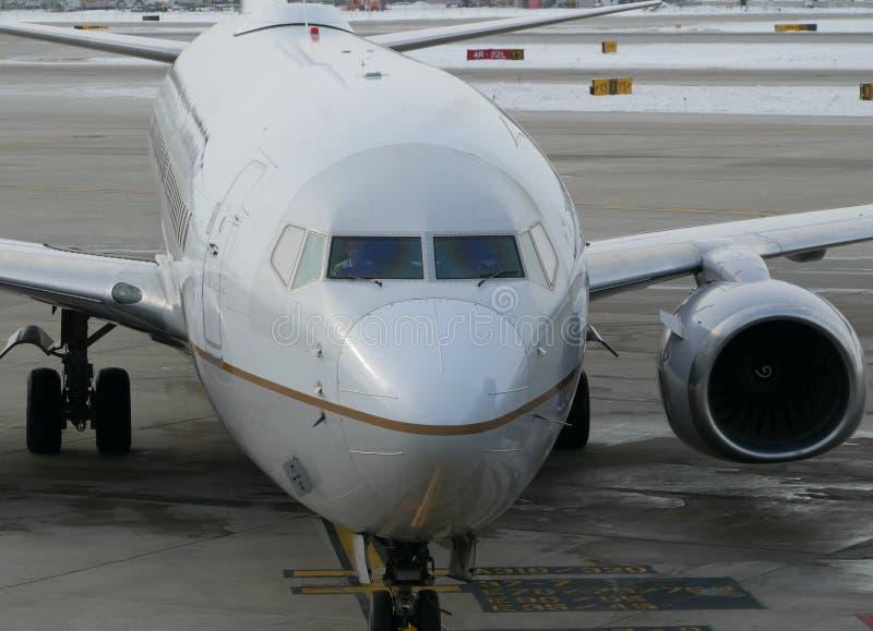 Airplane Pilot royalty free stock image