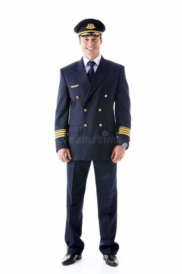 Pilota fotografie stock libere da diritti