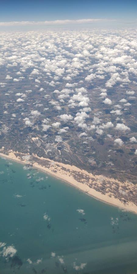 Pilotant et connaissant Recife image libre de droits