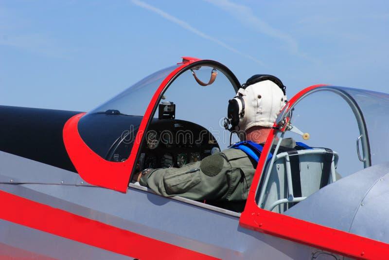 Pilote Photo stock
