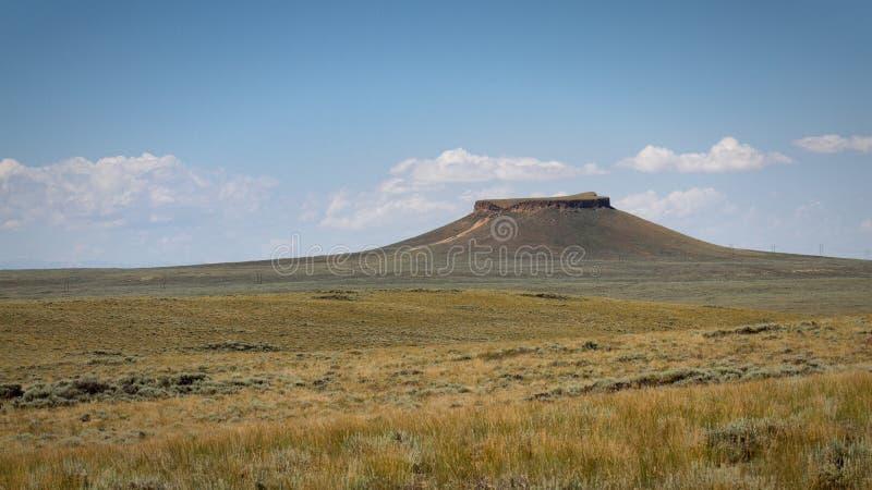 Pilote Butte photographie stock libre de droits