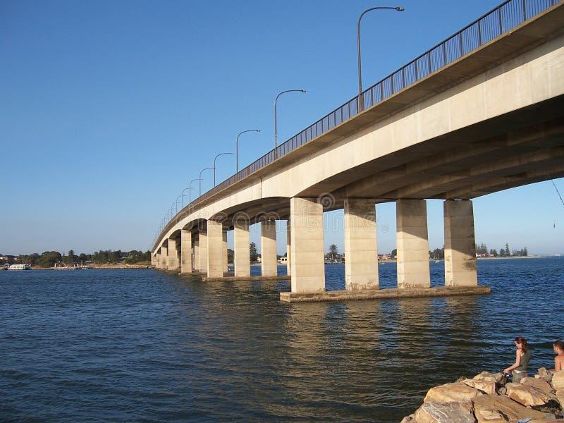Pilote Cook Bridge photo stock