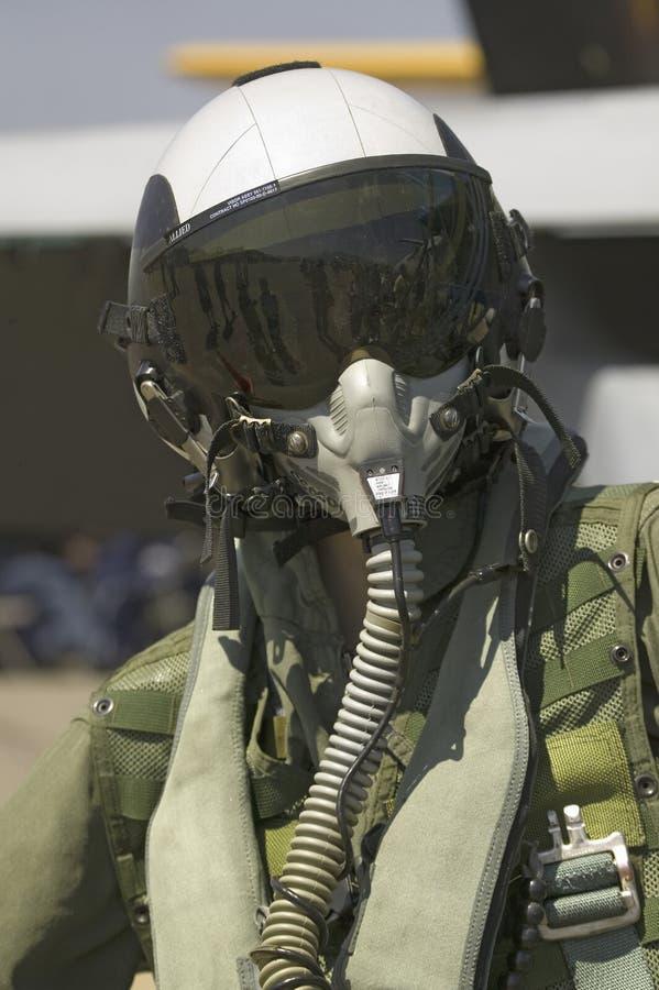 Pilote de jet factice photo stock