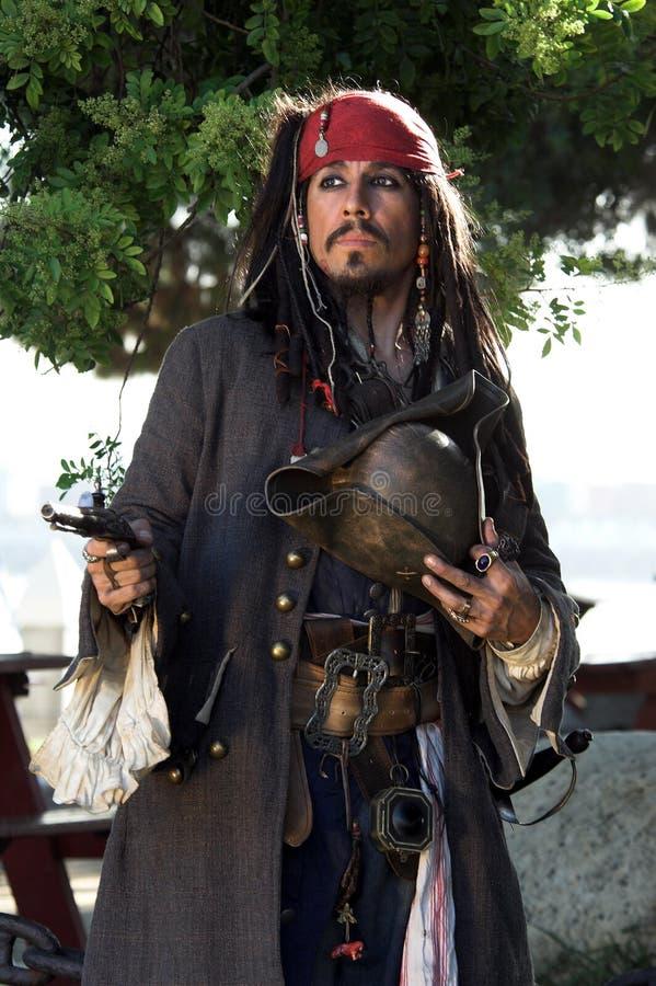 Pilote de pirate photo libre de droits