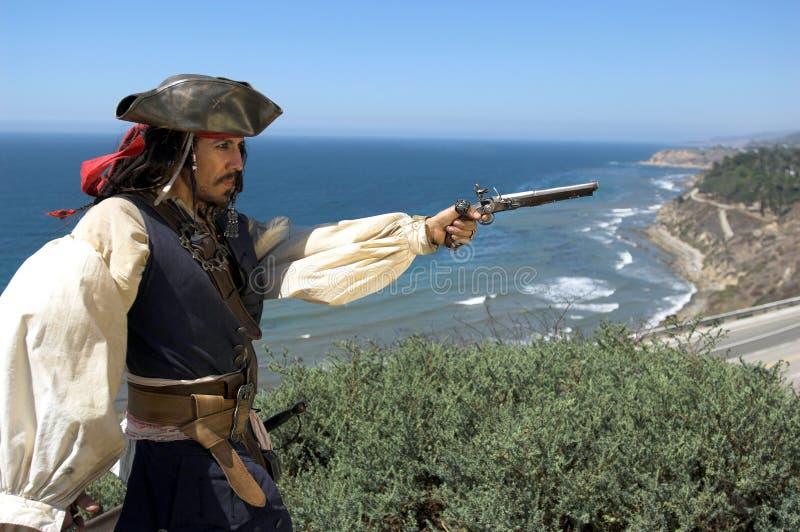 Pilote de pirate image stock