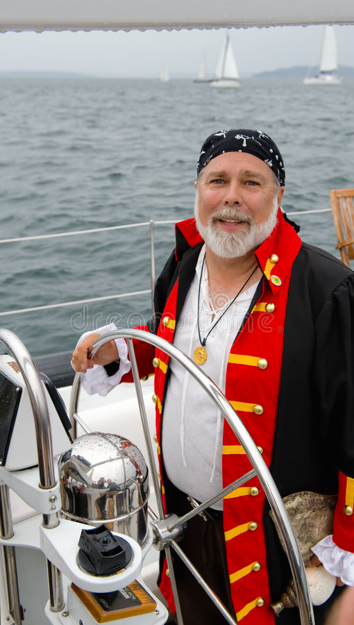 Pilote de pirate photos libres de droits