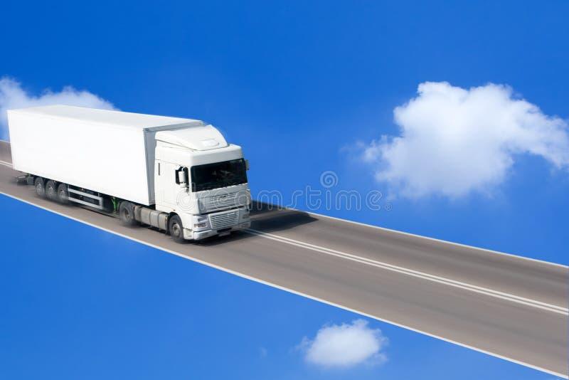 Piloter de camion photos libres de droits