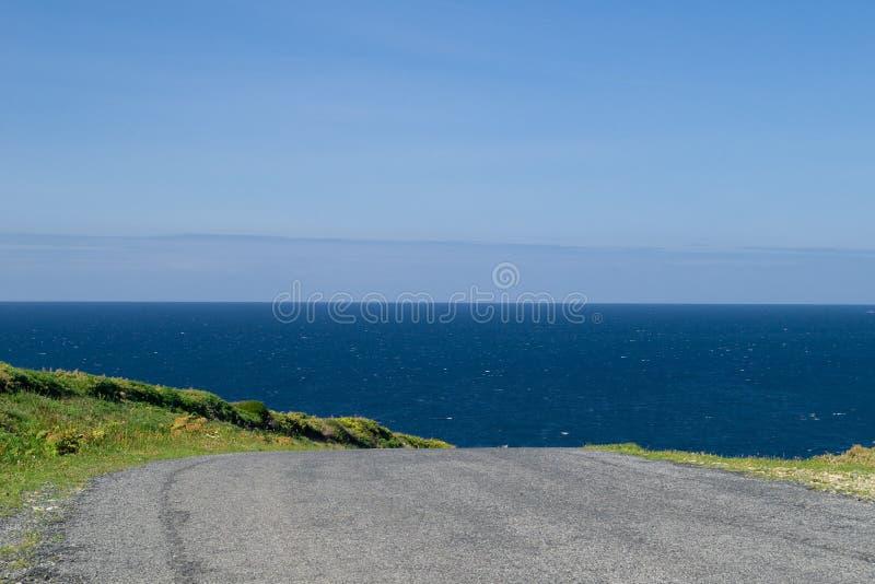 Piloter vers l'océan même 2 photos libres de droits