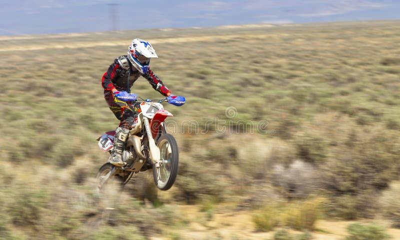 Piloto da bicicleta da sujeira imagem de stock royalty free
