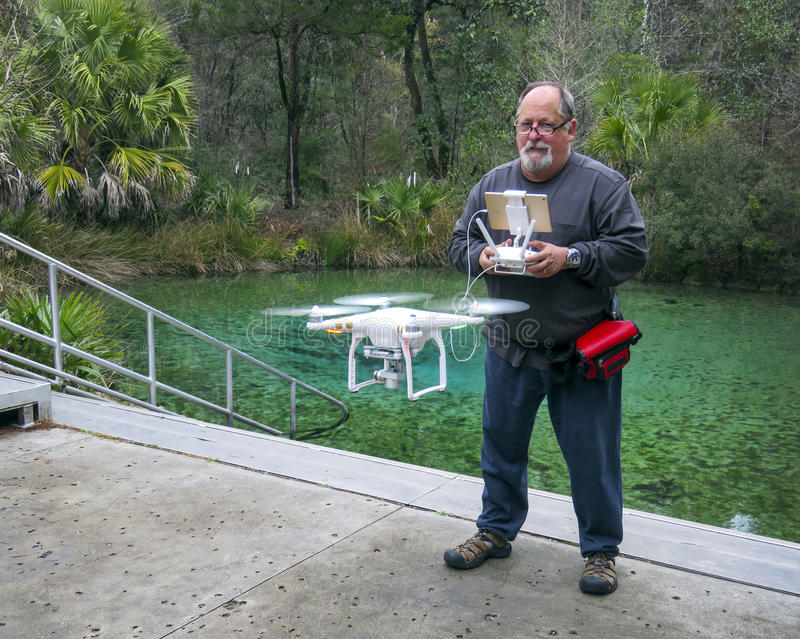 Piloto del abejón - Pitt Springs Florida fotos de archivo libres de regalías