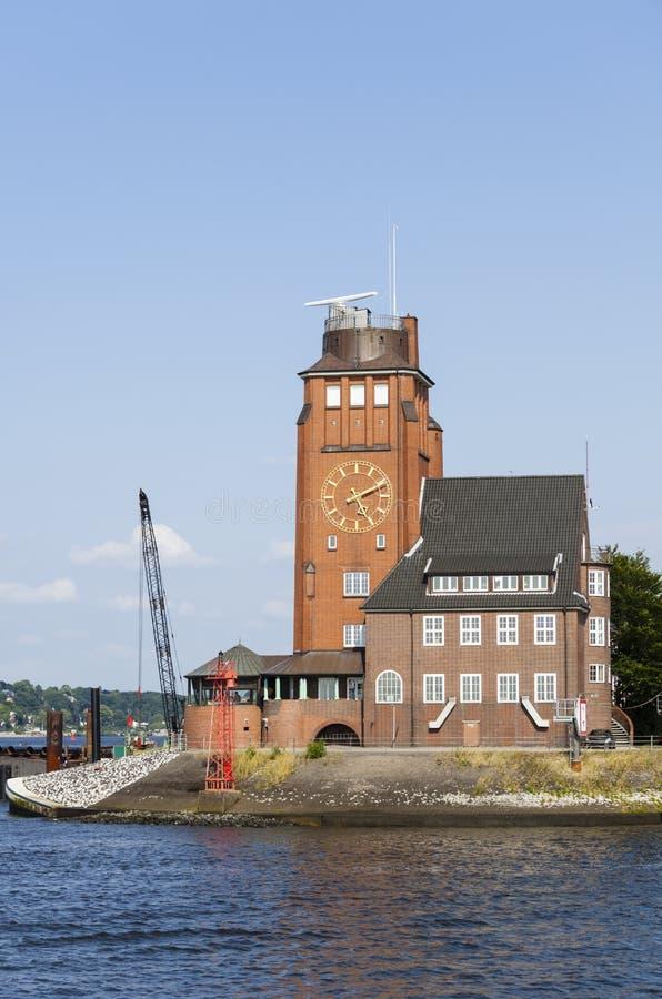 Piloto House em Hamburgo, Alemanha foto de stock