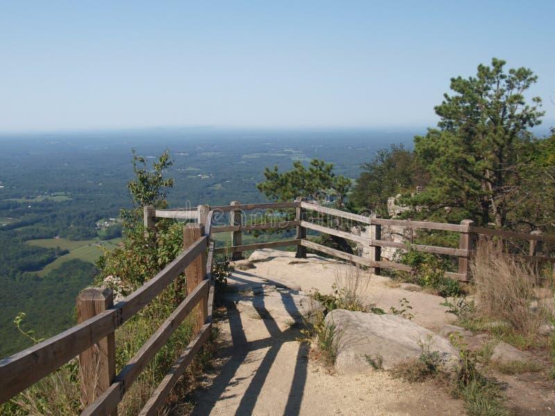 Piloto Mountain State Park foto de stock