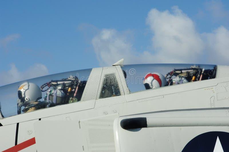 pilotwingman royaltyfri foto
