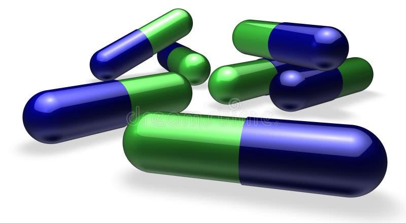 Pilse oder Tabletten vektor abbildung