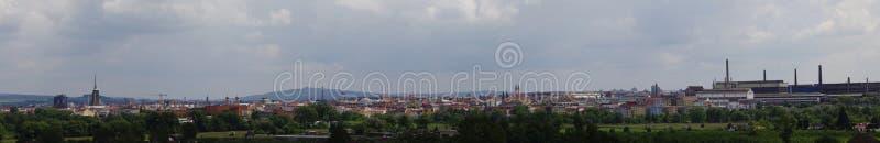 Pilsen panorama fotografia royalty free