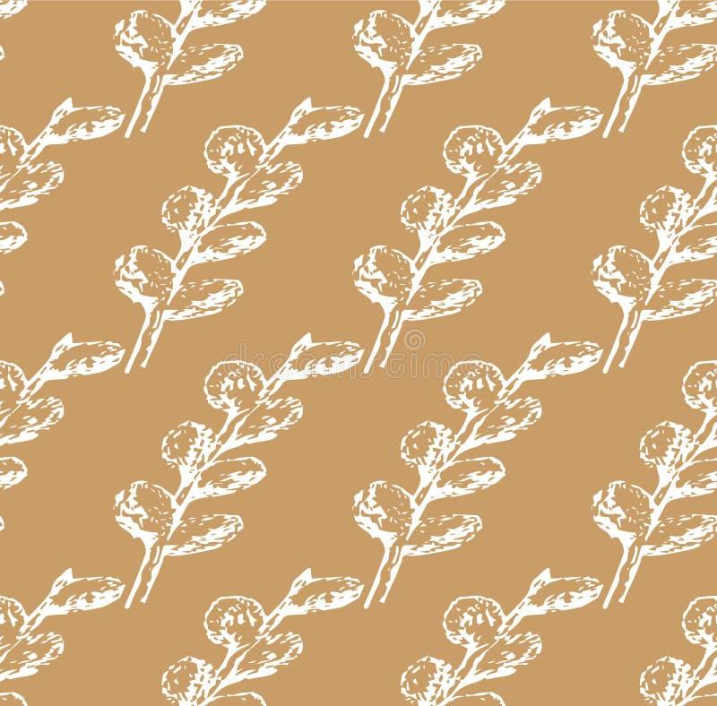 Pilskyddsremsor mönstrar vitt på mjölkaktig bakgrund stock illustrationer