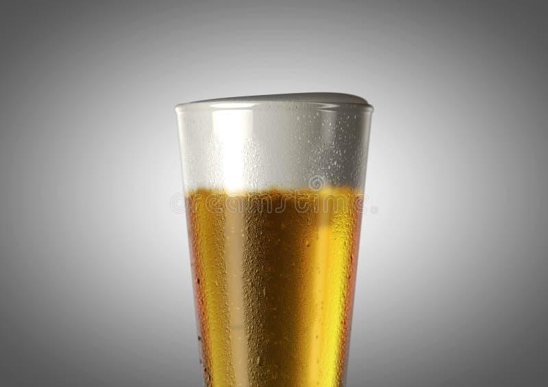 Pilsner Beer Pint stock image