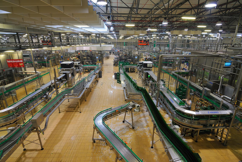 Download Pilsner Urquell Bottling Plant Editorial Photography - Image of republic, machinery: 19426947
