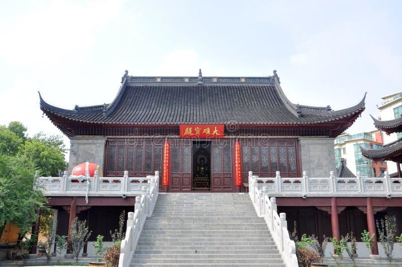 Pilu Temple, Nanjing, China royalty free stock image