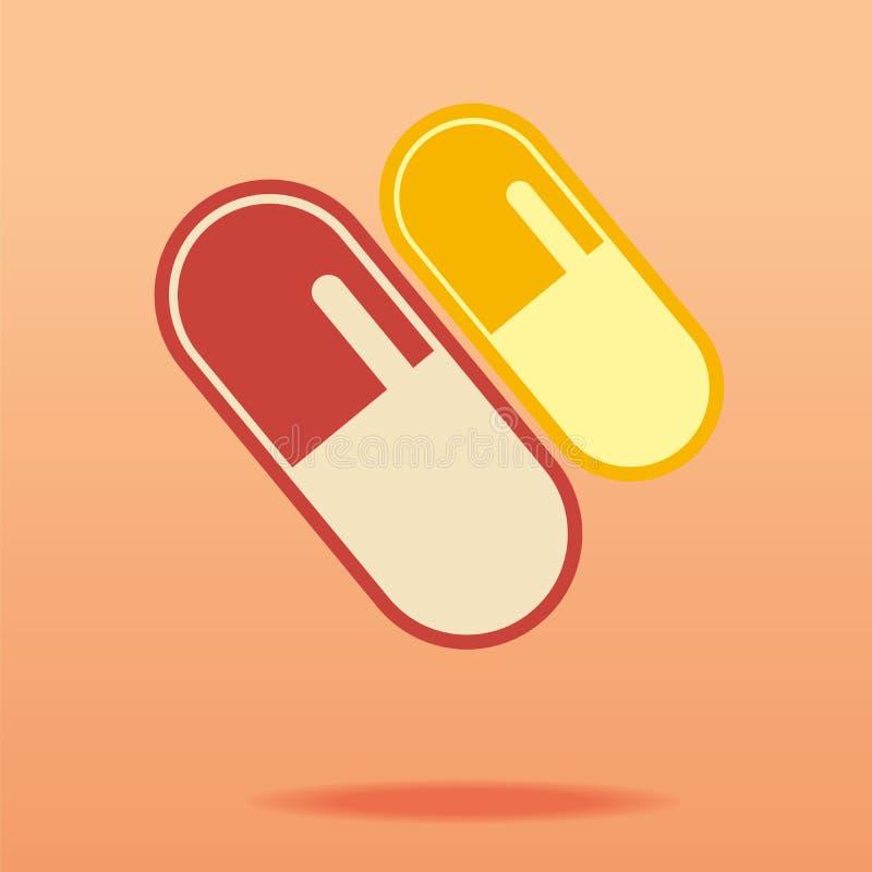 Pilule. illustration libre de droits