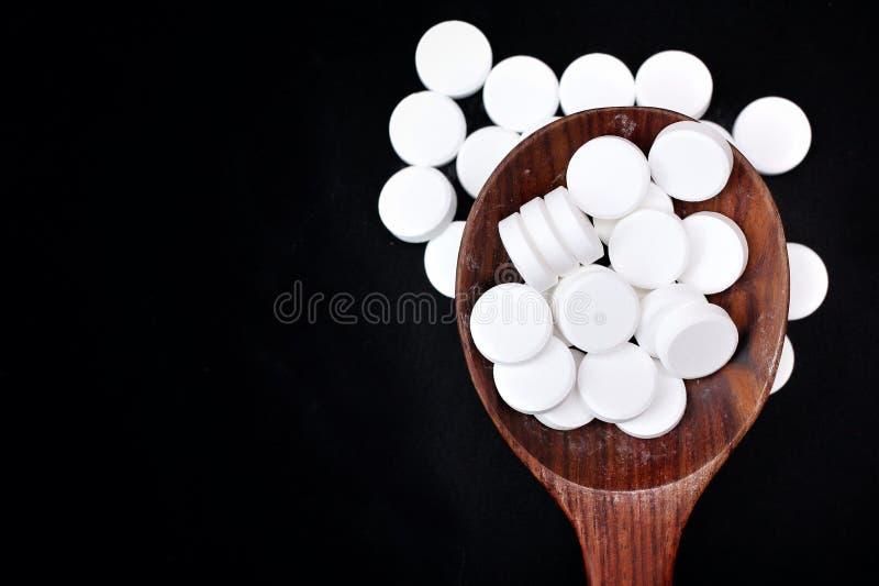 Pilule de paracétamol photographie stock
