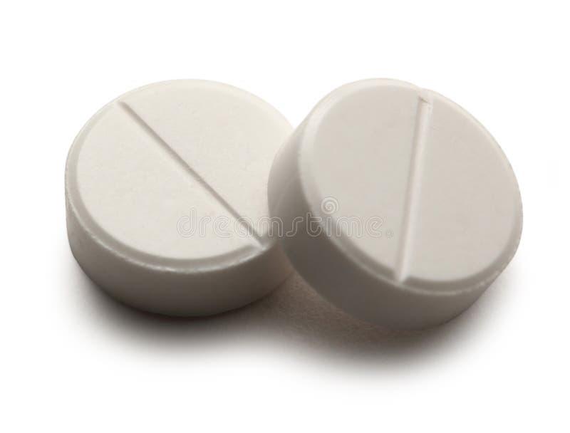 Pilules d'Aspirin image stock