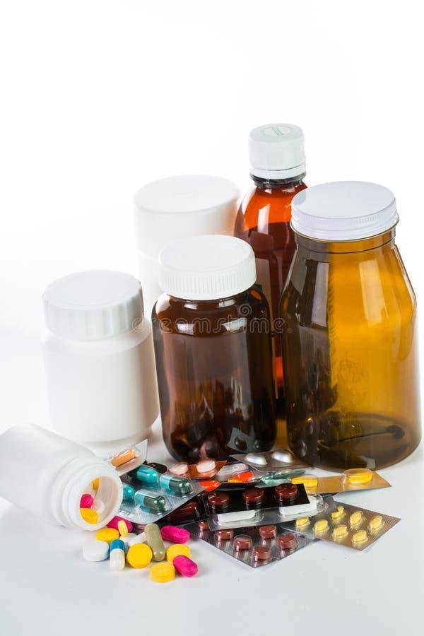 Download Pilules Et Récipient De Drogue Photo stock - Image du capsule, choc: 45367288