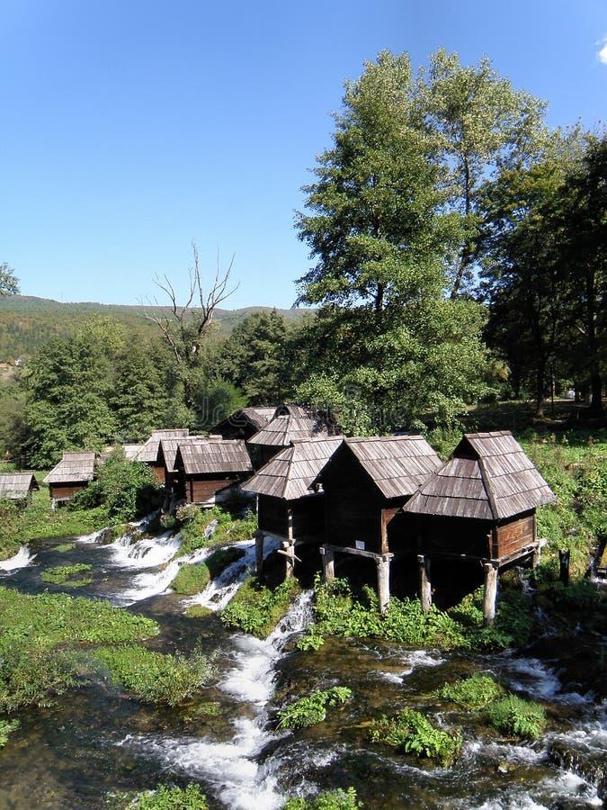 Pilva jeziora Watermills (180) obraz stock