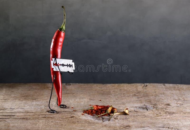 Pimentão afiado foto de stock