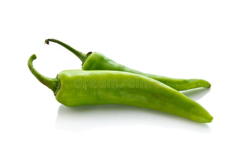 Pimentão verde imagem de stock