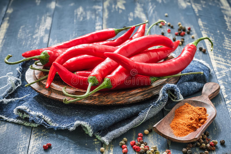 Piment image stock