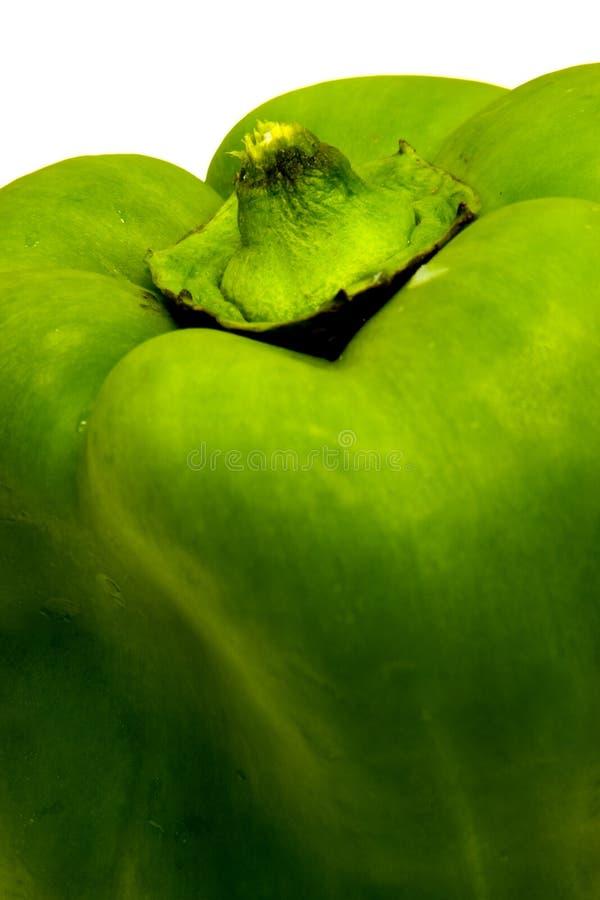 Pimenta de Bell verde imagem de stock royalty free
