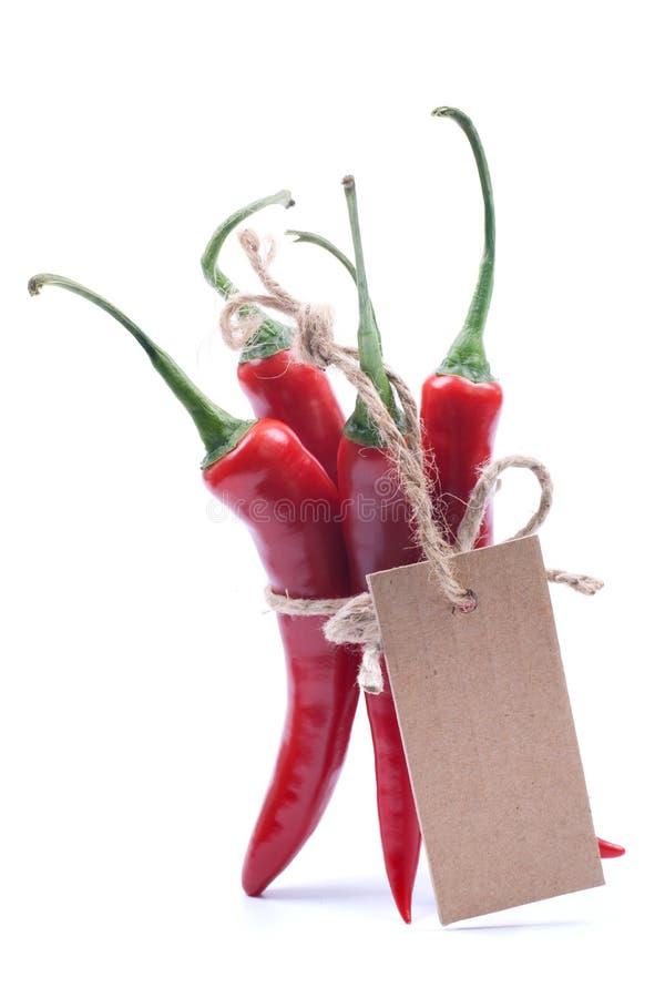 Pimenta de pimentão vermelho fotografia de stock