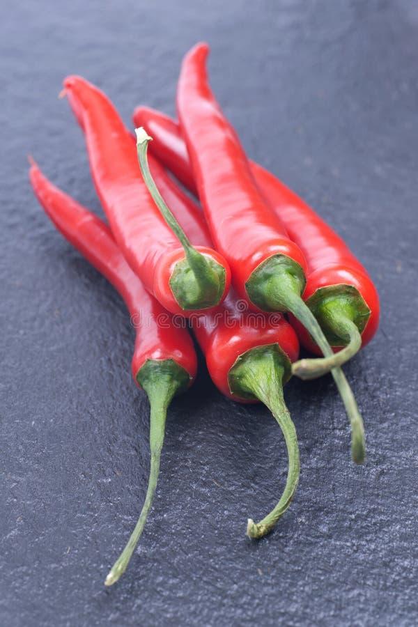 Pimenta de pimentão vermelho fotos de stock royalty free