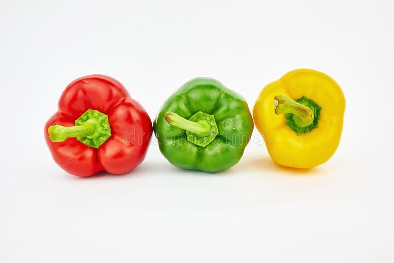 Pimenta de sino colorida foto de stock