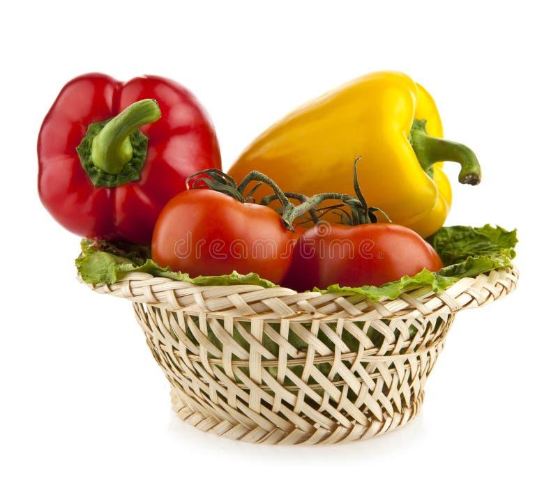 Pimenta e tomates foto de stock royalty free