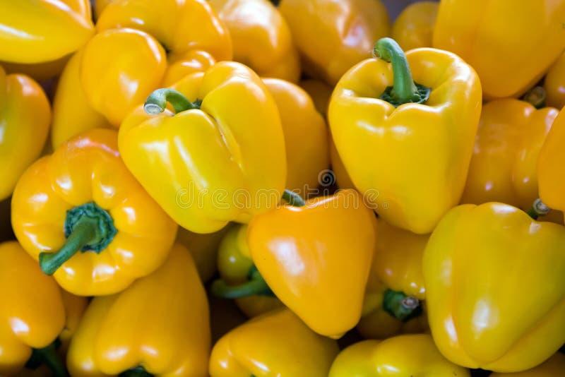 Pimentas amarelas
