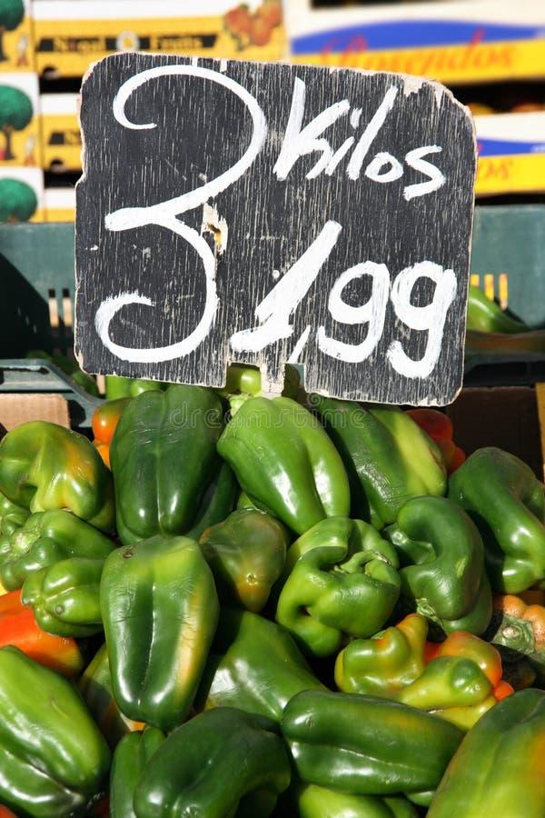 Pimentas verdes fotos de stock royalty free