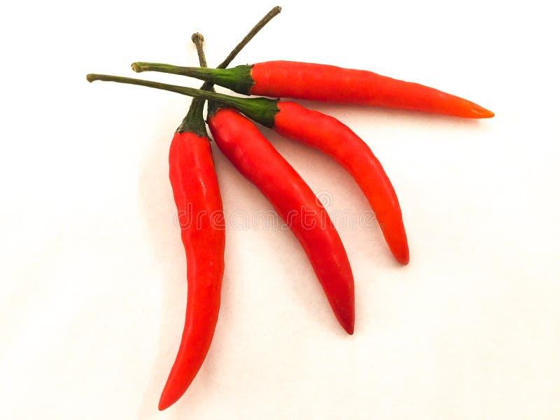 Pimentos Cayenne fotos de stock