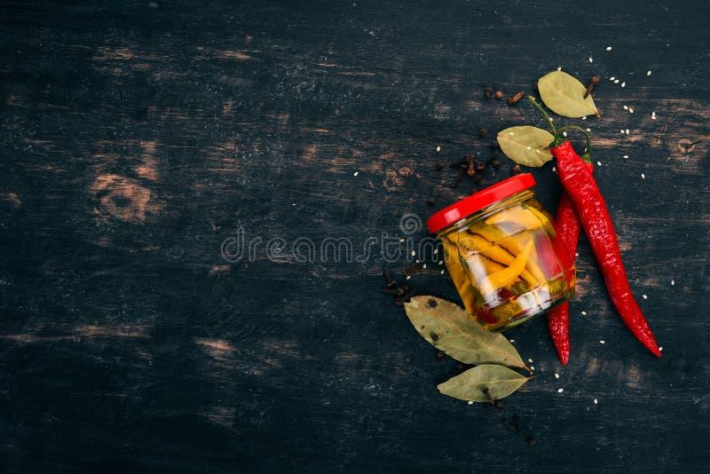 Piments piment poivrés photographie stock