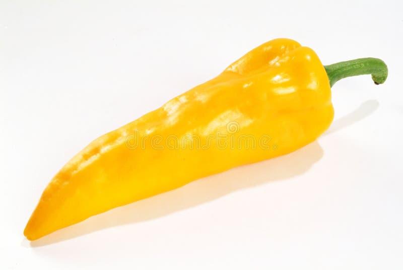 Pimienta amarilla foto de archivo