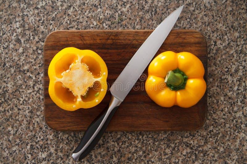 Pimienta amarilla III fotos de archivo libres de regalías