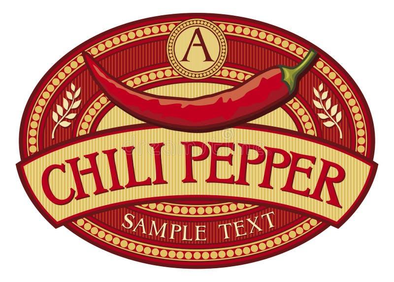 Pimienta de chile libre illustration