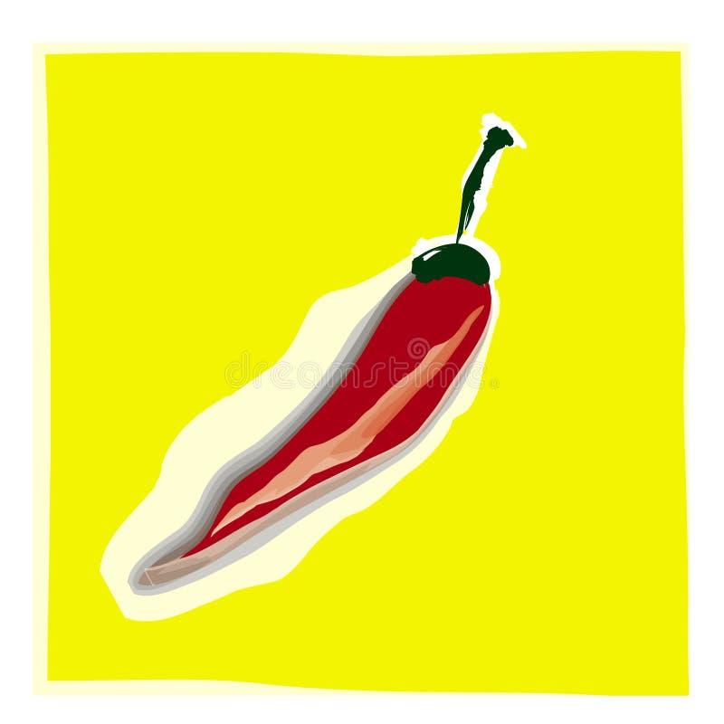 Pimienta roja de Chile libre illustration